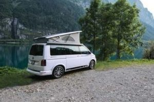 VW T6 California Camper am See