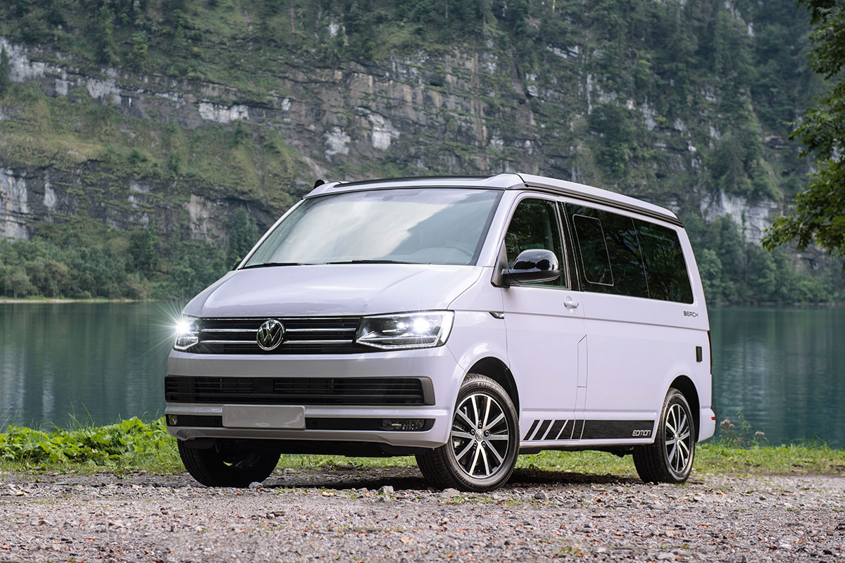 buy a new VW T6 California campervan in Switzerland