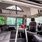 campervan rental Europe, ample space in Budget Camper