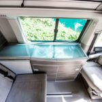 campervan rental Switzerland, brand new vehicles, premium campervan, cozy interior