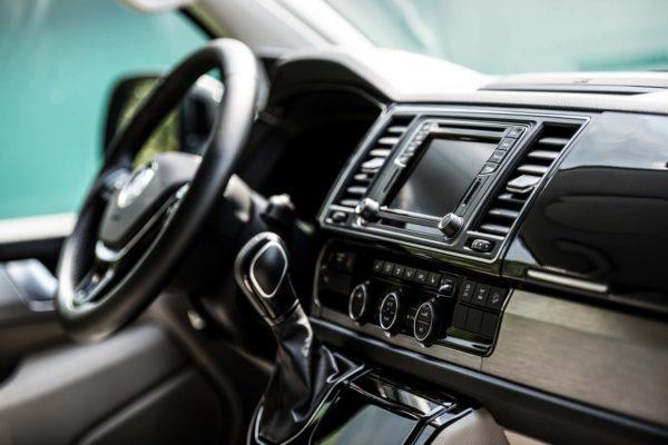 Camper mieten Schweiz, Cockpit, Fuehrerstand, VW T6 California