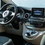 Premium Camper mieten Schweiz, Mercedes Marco Polo mieten, Cockpit, 360 Grad Kamera