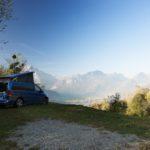 Mercedes Marco Polo Campervan rentals Switzerland
