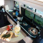 Motorhome mieten Schweiz, Küchenzeile, top Preise