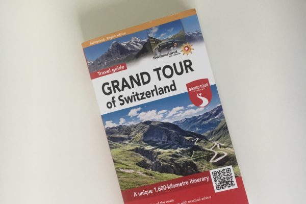 Grand Tour of Switzerland Touring Guide, English, camping special