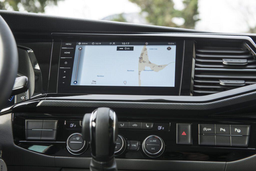 VW California navigation system